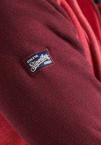Superdry - Zip-up sweatshirt - red marl - 1