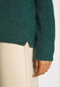 InWear - PAPINA ONECK  - Jumper - warm green - 5