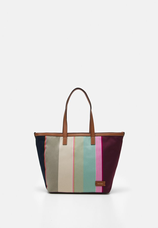 WOMEN BAG TOTE STRIPE - Cabas - multi-color