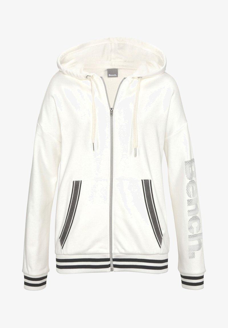Bench - Zip-up hoodie - ecru