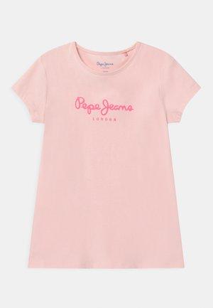 HANA GLITTER - Camiseta estampada - washed pink