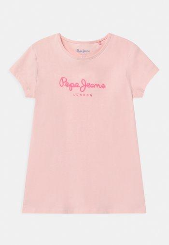 HANA GLITTER - Print T-shirt - washed pink