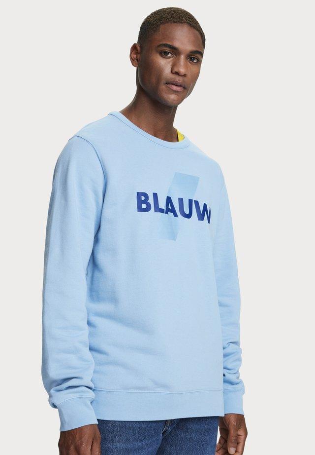 crew neck - Sweatshirts - infinity blue