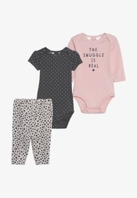 Carter's - GIRL RERUN BABY SET - Body - pink - 6