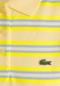 Lacoste - Jersey dress - zabaglione/pineapple/chambray/flour - 2