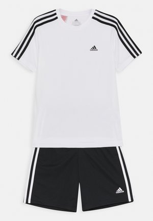 SET - Sports shorts - white/black