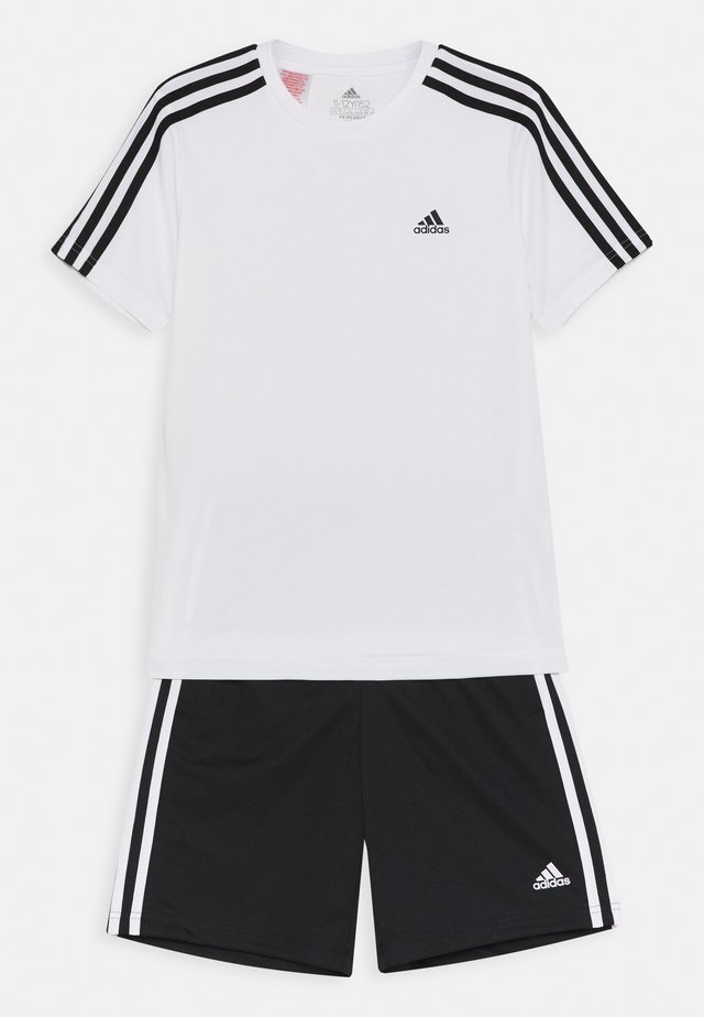 SET - Short de sport - white/black