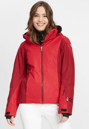 Ski jacket - carmin