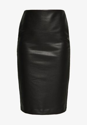 PENCIL SKIRT - Blyantskjørt - black