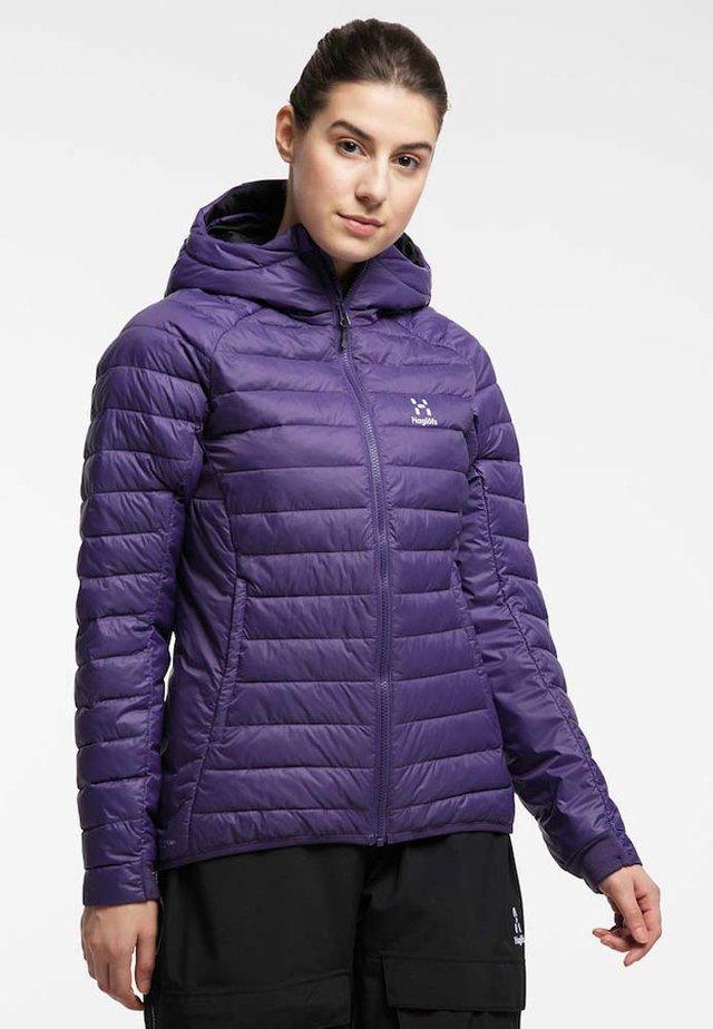 Winter jacket - purple rain