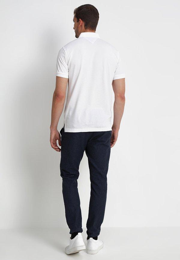 Tommy Hilfiger CORE REGULAR FIT - Koszulka polo - bright white/biały Odzież Męska DNPK