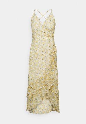 Day dress - white/yellow