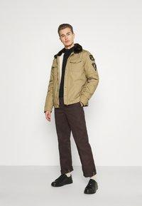 Schott - JEEPER - Winter jacket - beige - 1