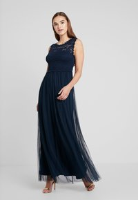 Vila - VILYNNEA MAXI DRESS - Gallakjole - total eclipse - 0