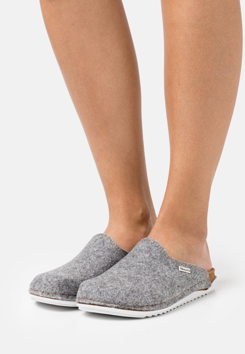 Tamaris - Slippers - light grey