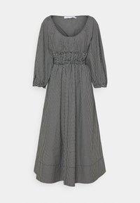 Proenza Schouler White Label - YARN DYE PLAID DRESS - Day dress - black/white - 6