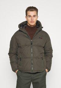Schott - JKTALASKA - Winter jacket - military green - 0