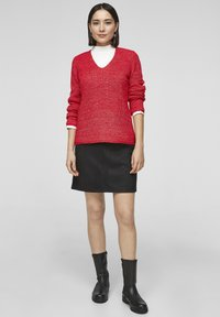 s.Oliver - Trui - red knit - 1