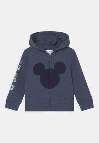 GAP - MICKEY MOUSE DISNEY - Zip-up hoodie - blue heather - 0