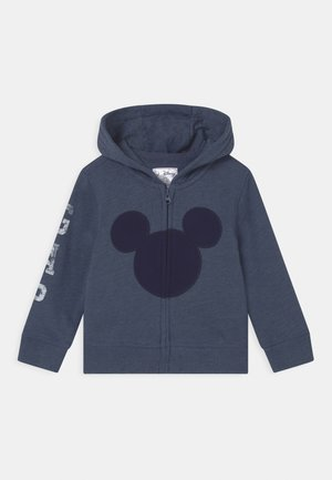 MICKEY MOUSE DISNEY - Bluza rozpinana - blue heather