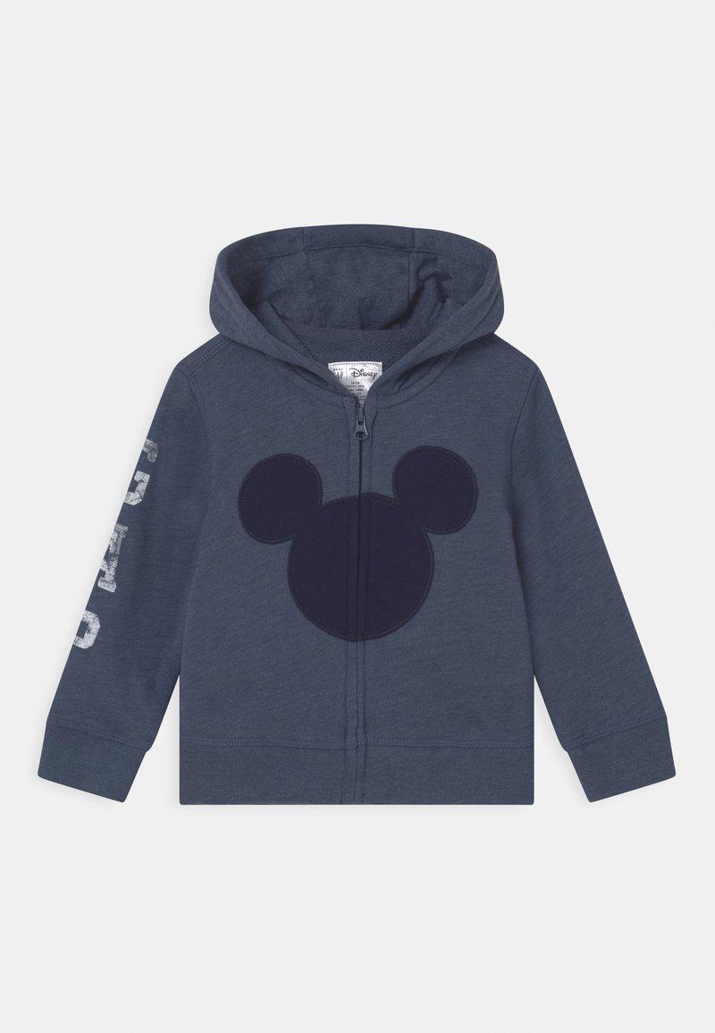 GAP - MICKEY MOUSE DISNEY - Zip-up hoodie - blue heather