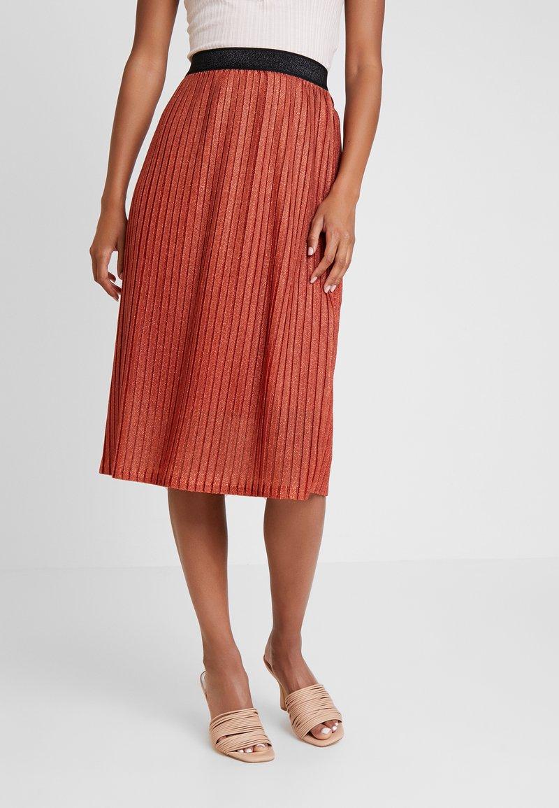 YAS - YASALURA SKIRT - A-line skirt - rooibos tea