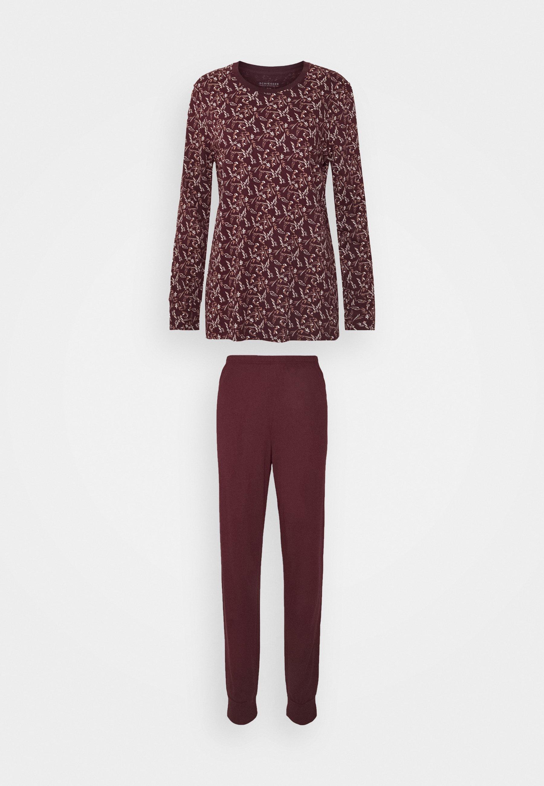 Damen SCHLAFANZUG LANG - Pyjama