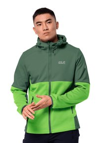 Jack Wolfskin - Soft shell jacket - leaf green - 0