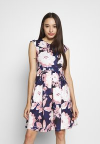 Anna Field Petite - Cocktail dress / Party dress - dark blue/rose - 0