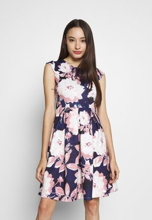Cocktail dress / Party dress - dark blue/rose