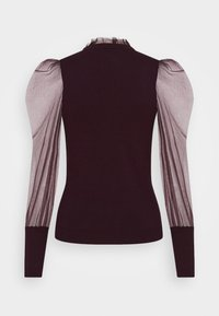 Morgan - MIBI - Long sleeved top - aubergine - 1