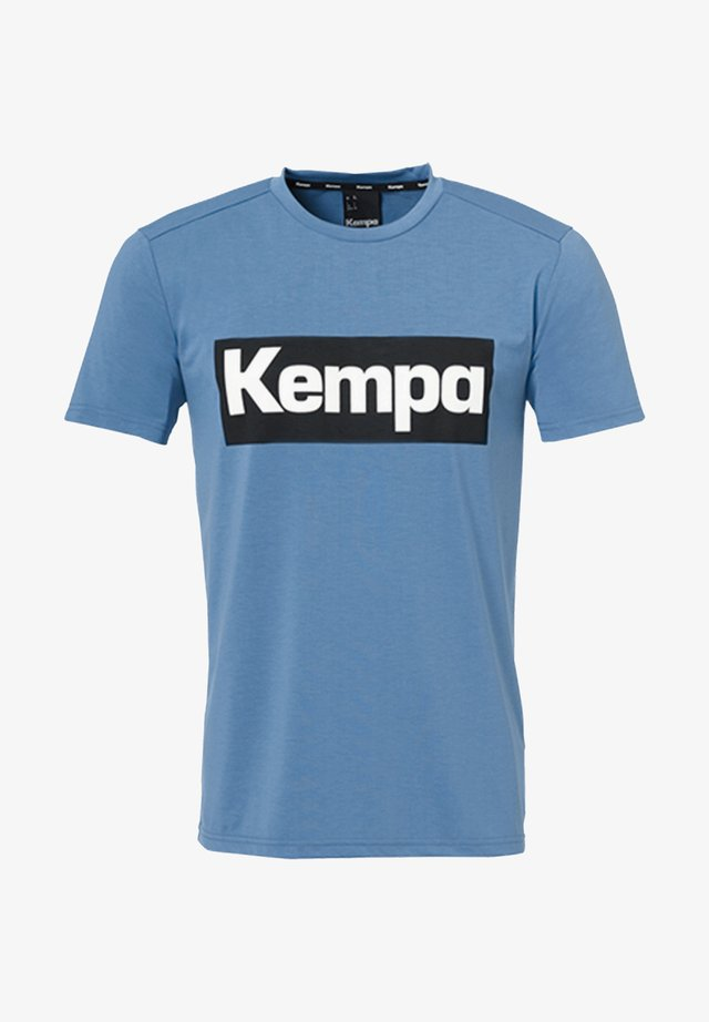 LAGANDA - Print T-shirt - blau