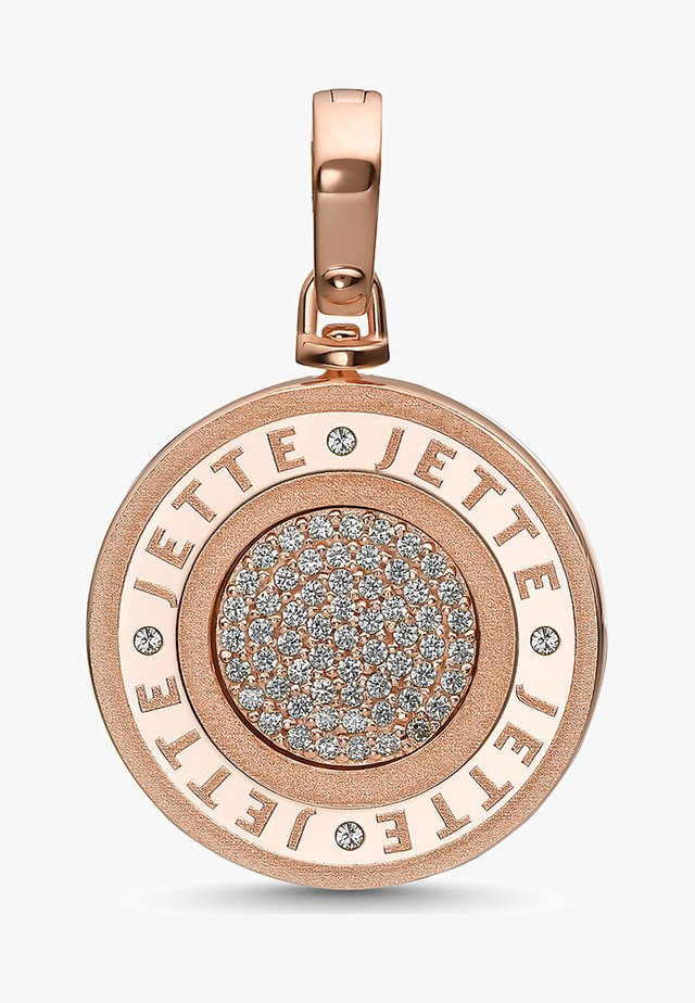 LUCKY - Pendant - rose gold-coloured