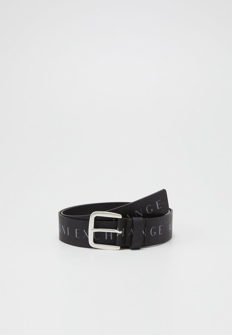 Armani Exchange - BELT - Pásek - black