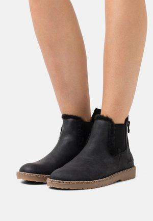 VEGAN CHILLIN - Ankle boots - black prospector