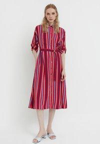 Finn Flare - Shirt dress - red - 1