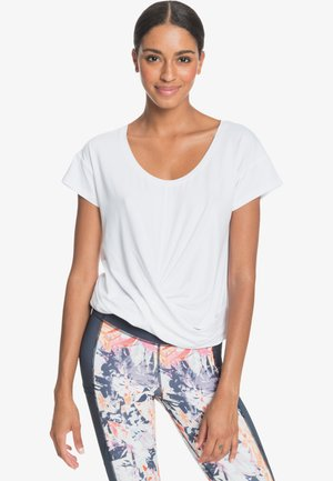 CHILL AND RELAX - Print T-shirt - bright white