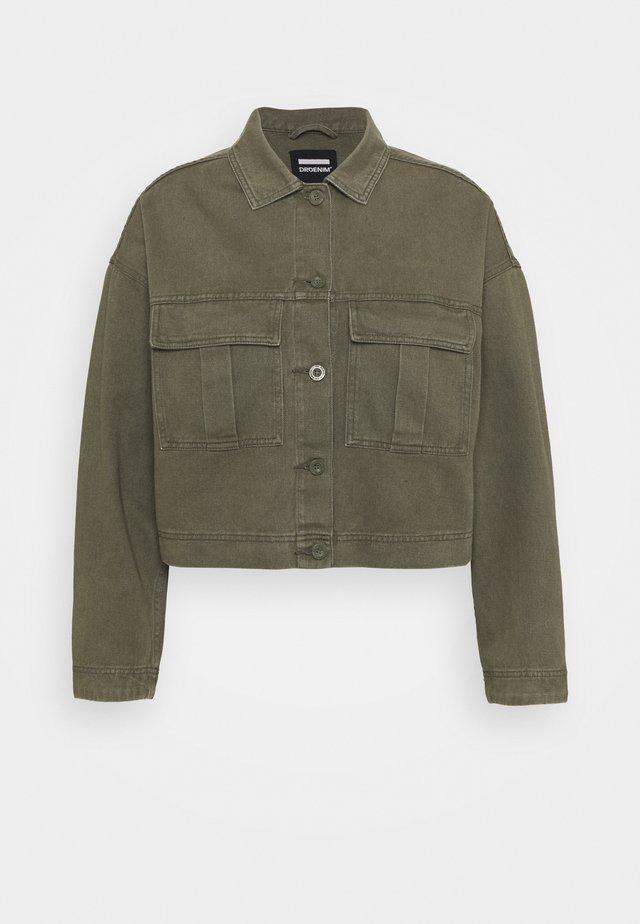 NEVADA JACKET - Giacca di jeans - dark emerald