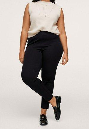 ELASTIC - Trousers - zwart