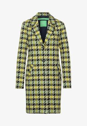 MIT DESSIN - Short coat - grün