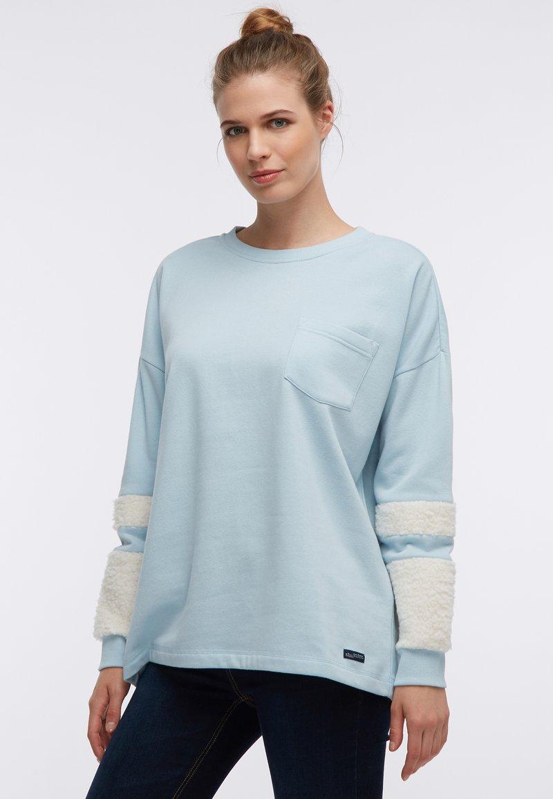 DreiMaster - Sweatshirt - rauch mint