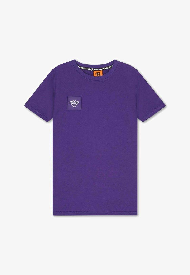 Black Bananas - JR FUNKY MONKEY TEE - T-shirt basic - paars