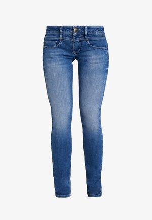 CATHYA - Jeans Skinny Fit - dark blue denim