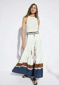 Massimo Dutti - Maxi skirt - white - 1