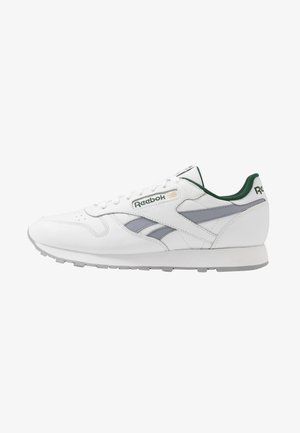 Trainers - white/collegiate shadow/utility green