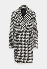 YASHILMA  - Classic coat - black/white