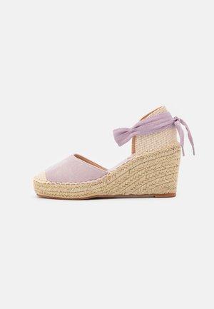 Zapatos de plataforma - lilac