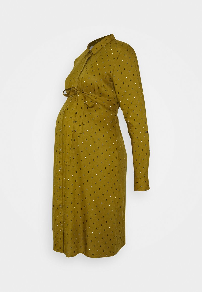 MAMALICIOUS - MLMERCY SHIRTDRESS - Shift dress - nutria