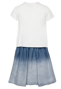 Desigual - VEST MAZATLÁN - Jersey dress - blanco - 1