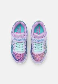 Skechers - GLIMMER KICKS - Trainers - lavender rock glitter/aqua/pink - 3